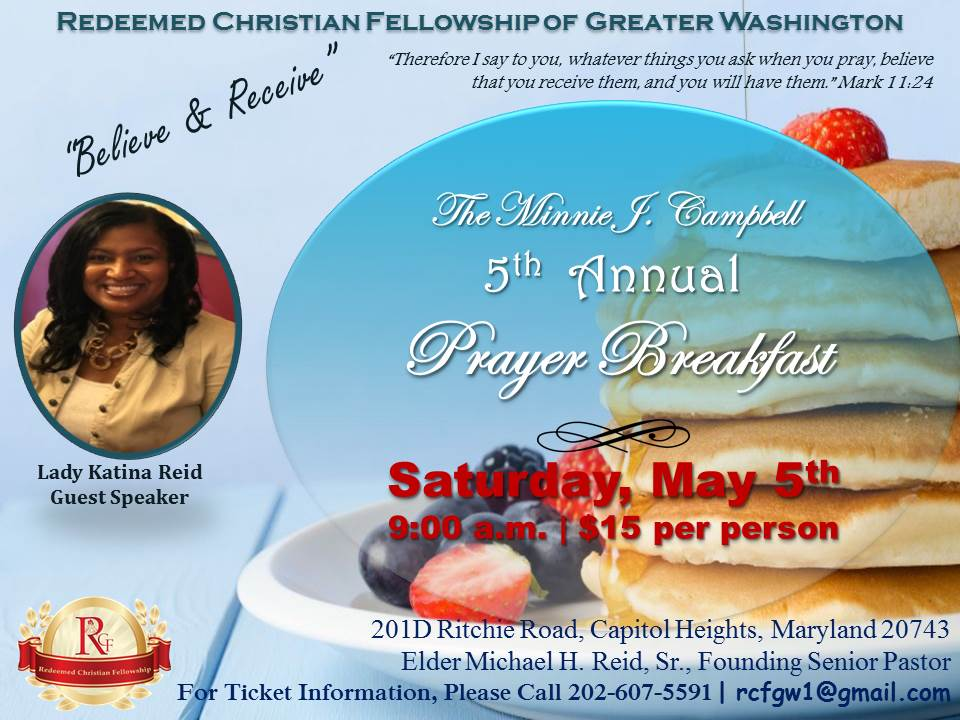 5th Annual Prayer Breakfast