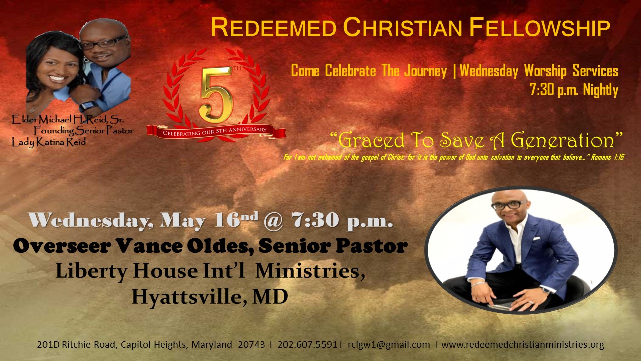 5th Church & Pastoral Anniversary Celebration