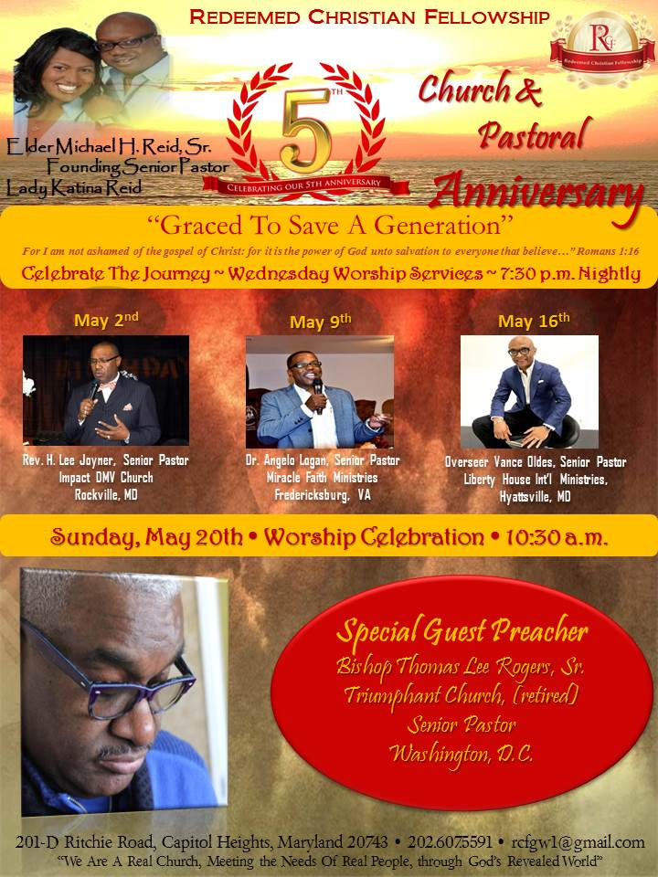 5th Church & Pastoral Anniversary